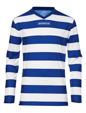 Long Sleeve SportShirt Celtic  Royal Blue / White