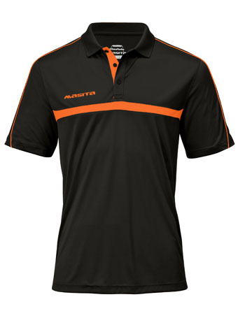 Polo Brasil  Black / Orange