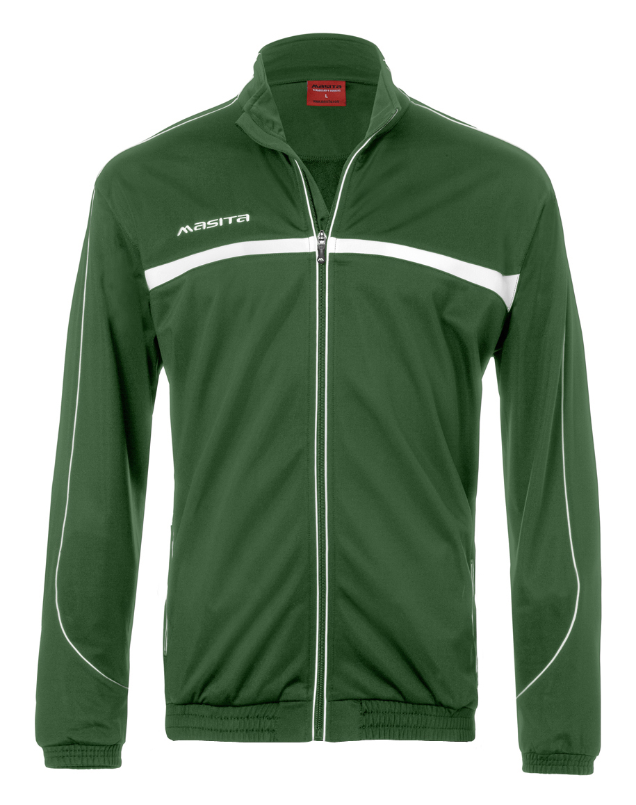 Polyester Jacket Brasil  Green / White