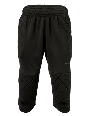 Goalkeeper 3/4 Trousers  Black