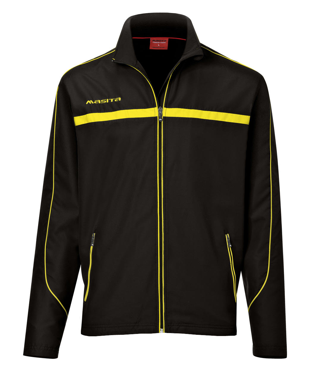Presentation Jacket Brasil  Black / Yellow