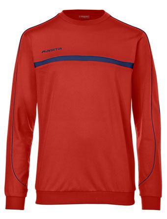 Sweater Brasil  Red / Navy Blue