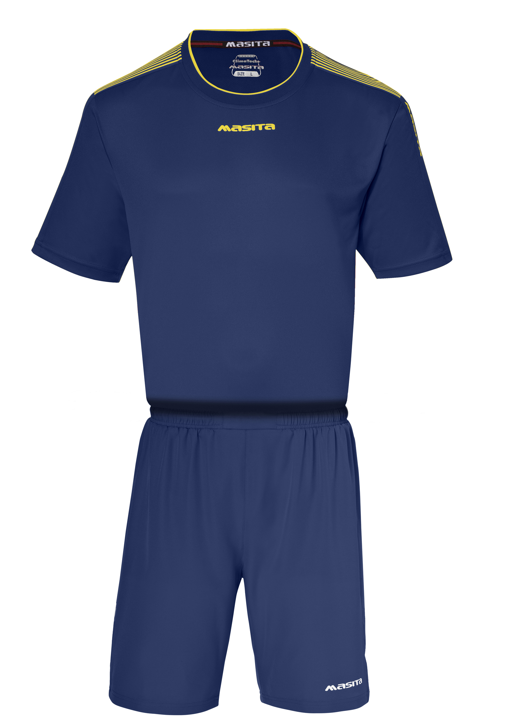 SportShirt Sevilla  Navy Blue / Yellow