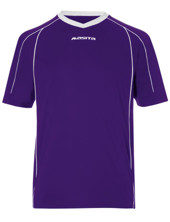 SportShirt Striker  Purple / Violet / White