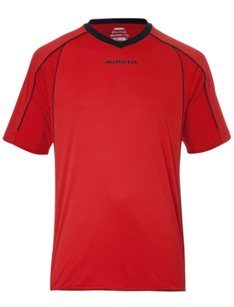 SportShirt Striker  Red / Black