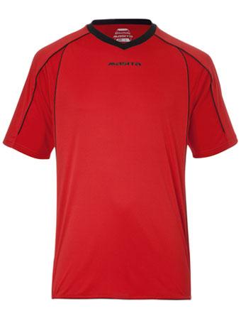 SportShirt Striker  Red / Black