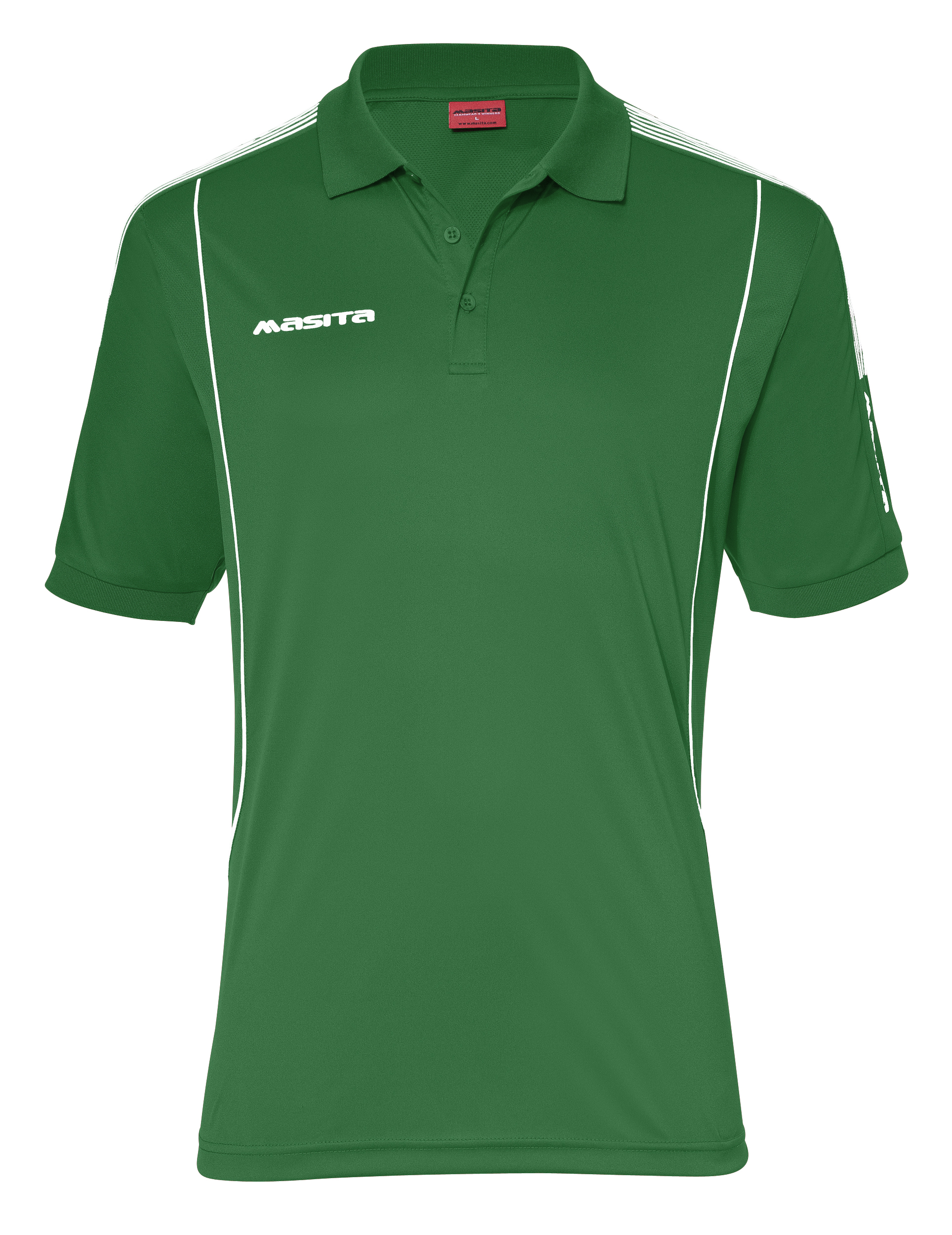 Polo Barca  Green / White