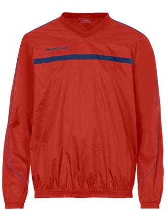 Rain-Sweater Brasil  Red / Navy Blue