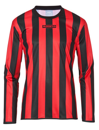 Long Sleeve SportShirt Barca  Black / Red