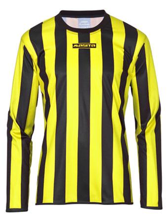 Long Sleeve SportShirt Barca  Black / Yellow