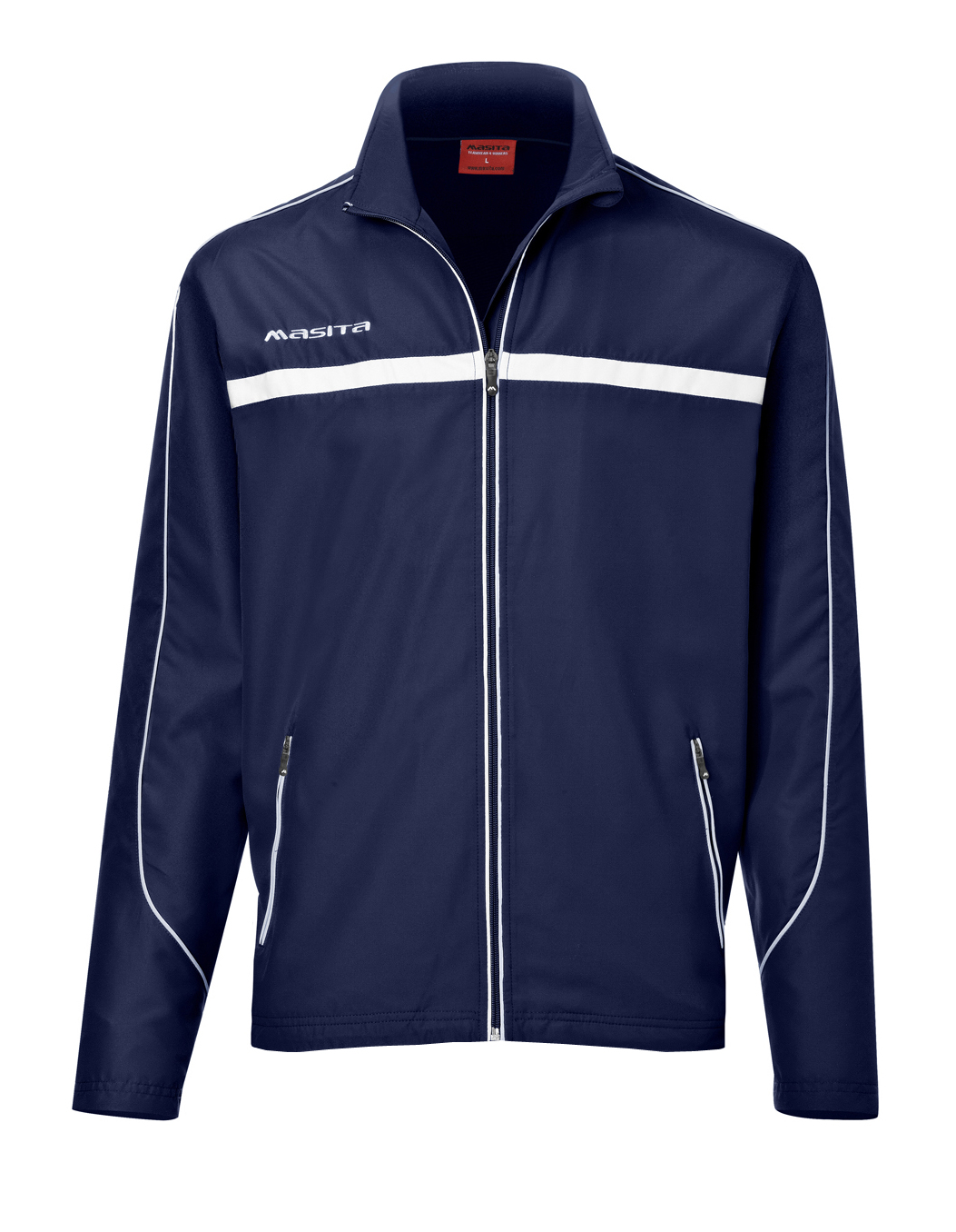 Presentation Jacket Brasil  Navy Blue / White