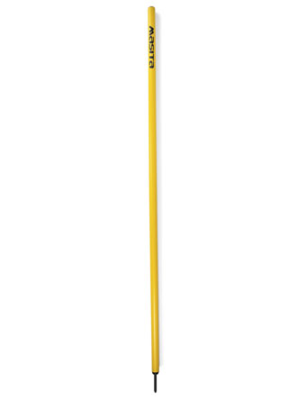Plastic Pole With Spike  Yellow
