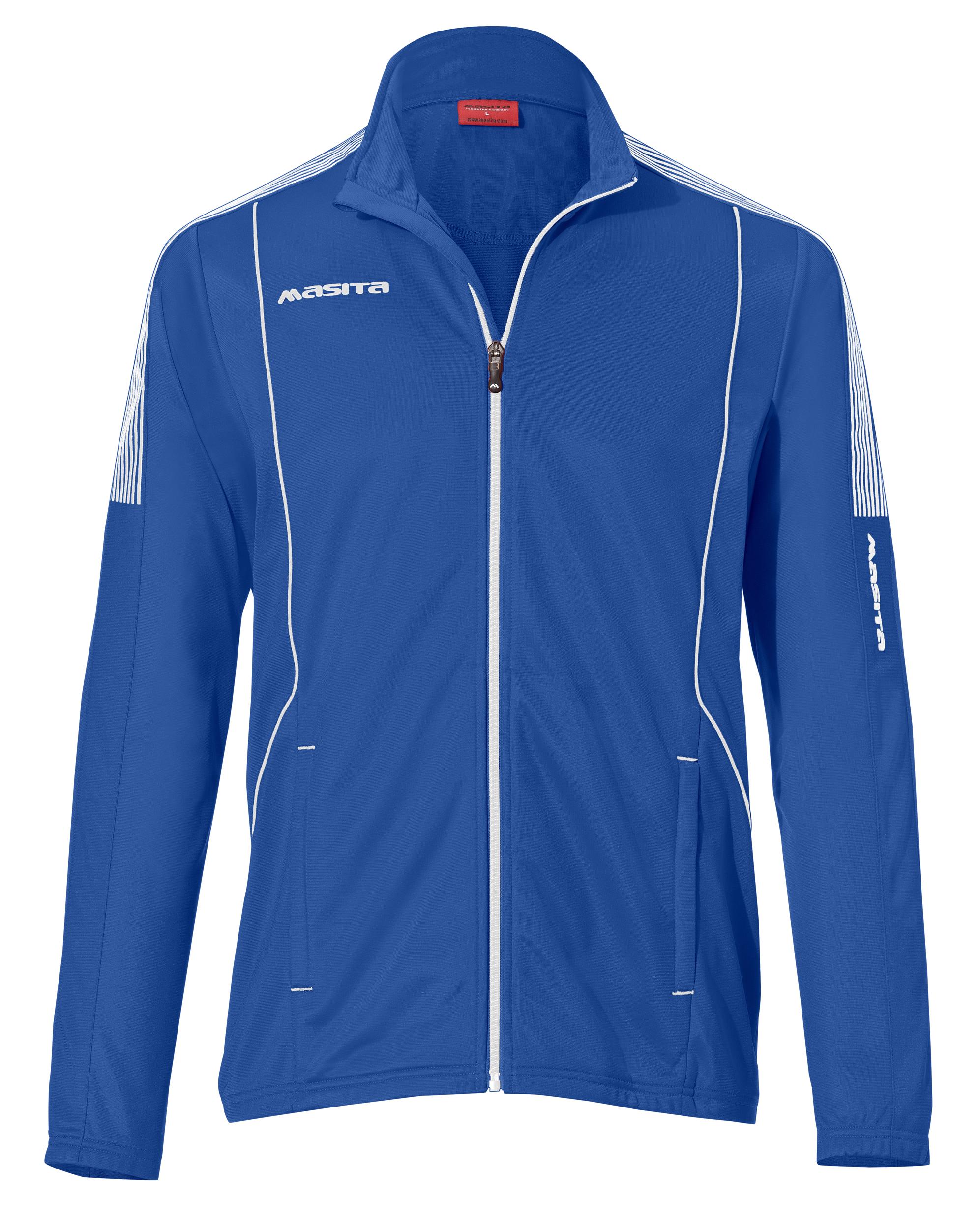 Polyester Jacket Barca  Royal Blue / White