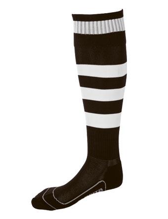 Socks Striped Barca  Black / White