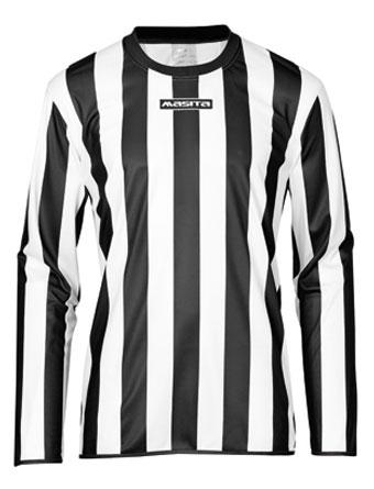 Long Sleeve SportShirt Barca  Black / White