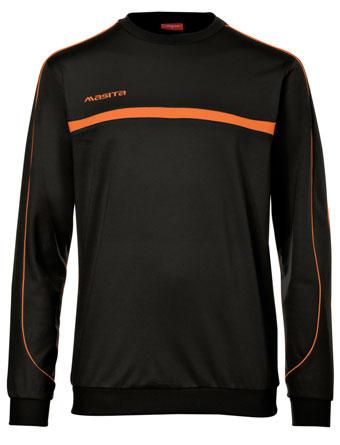 Sweater Brasil  Black / Orange