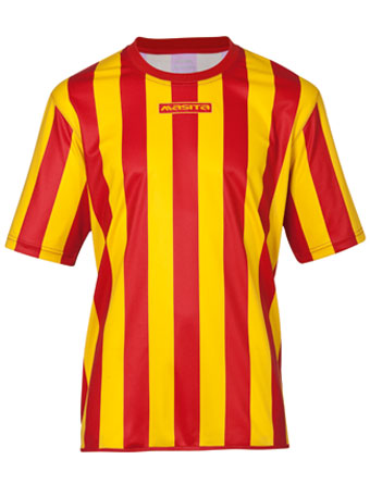 SportShirt Barca  Red / Yellow