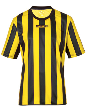 SportShirt Barca  Black / Yellow