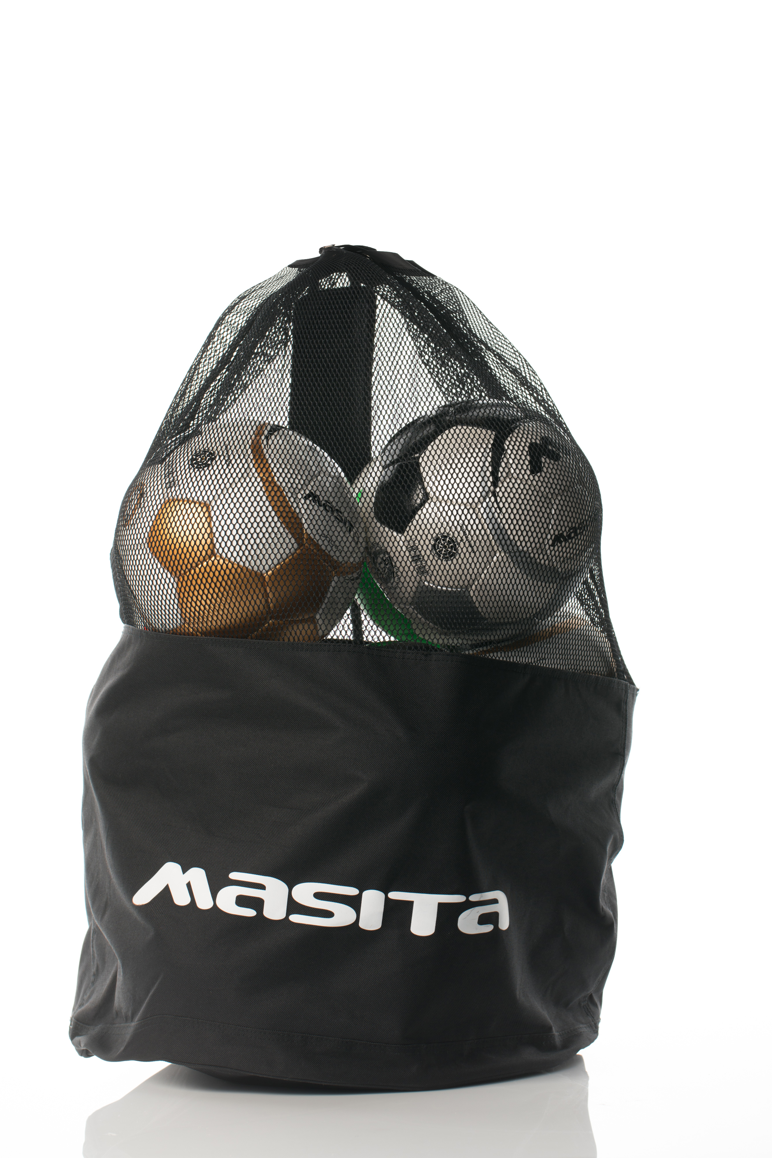 Mesh Ball Bag  Black