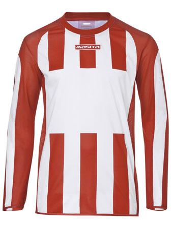 Long Sleeve SportShirt Inter  White / Red