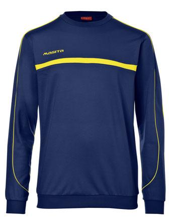 Sweater Brasil  Navy Blue / Yellow