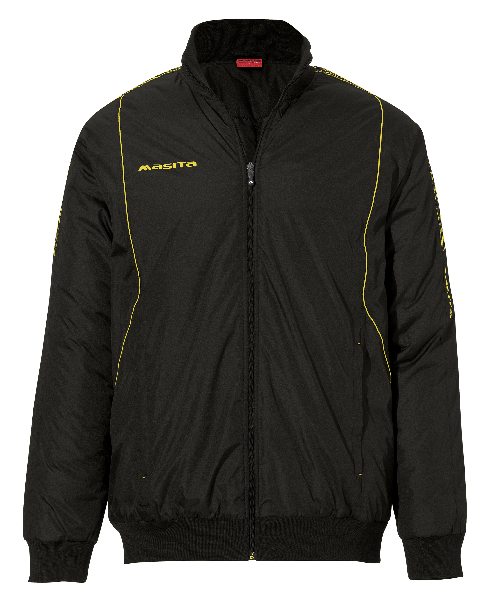 Coach-Jacket Barca  Black / Yellow