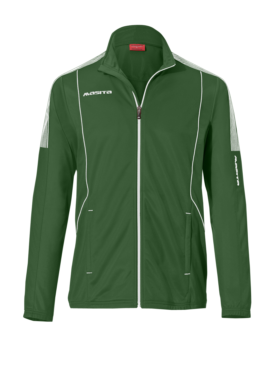 Polyester Jacket Barca  Green / White