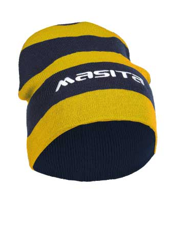 Hat Per 6 Pieces  Yellow / Navy Blue