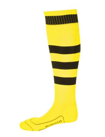 Socks Striped Barca  Yellow / Black