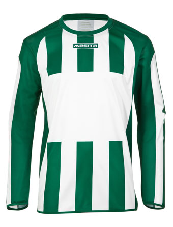Long Sleeve SportShirt Inter  White / Green