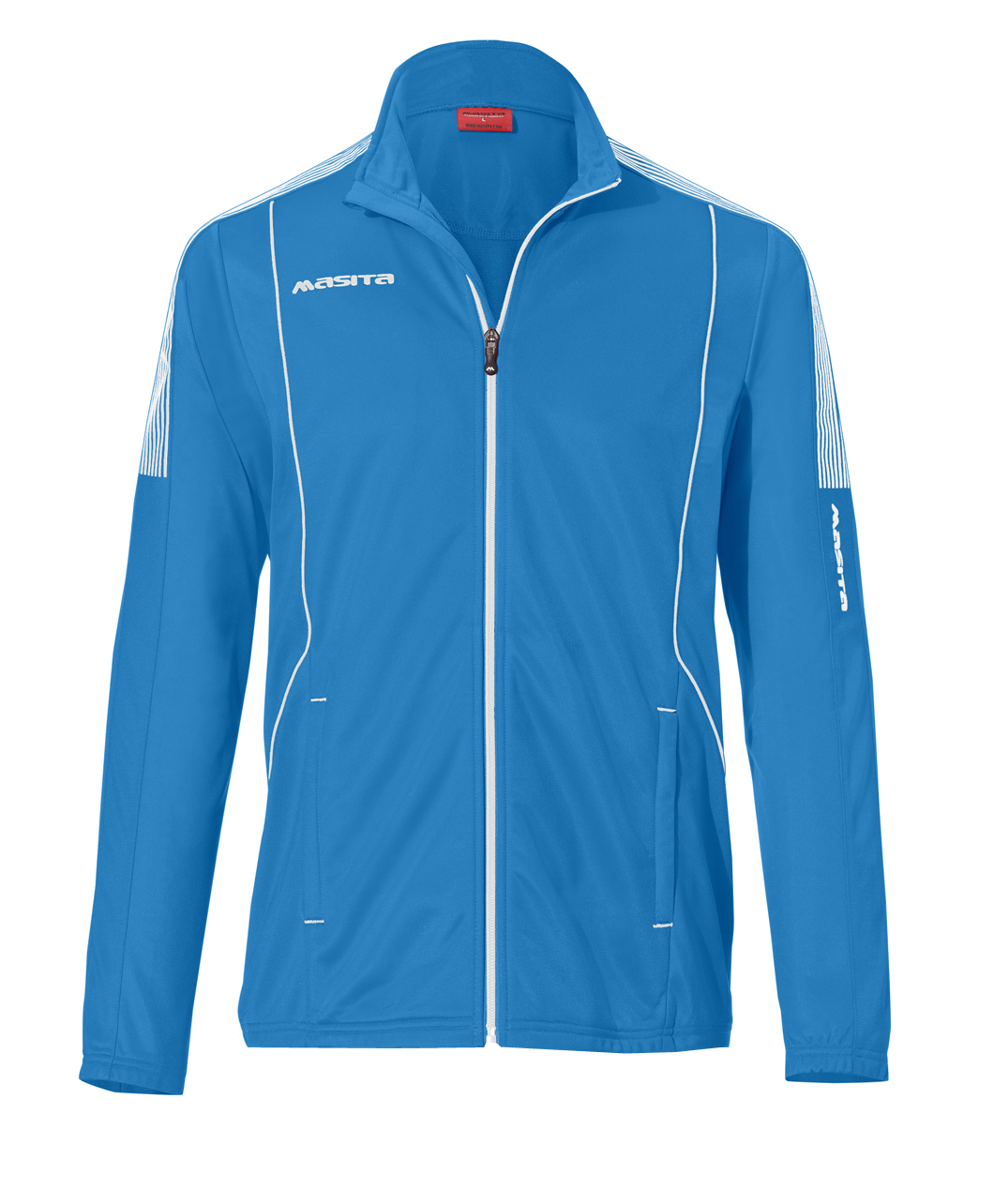 Polyester Jacket Barca  Sky Blue / White