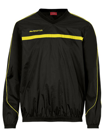 Rain-Sweater Brasil  Black / Yellow