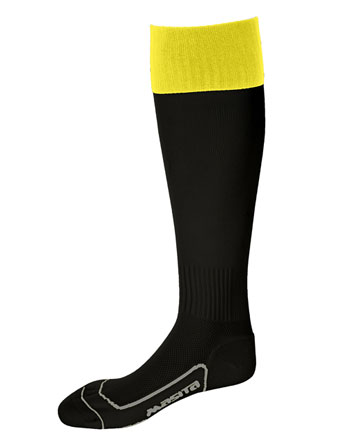 Socks Con.Welt Chelsea  Black / Yellow