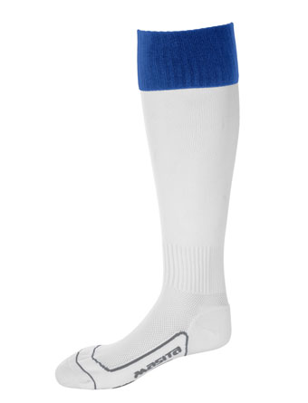 Socks Con.Welt Chelsea  White / Royal Blue