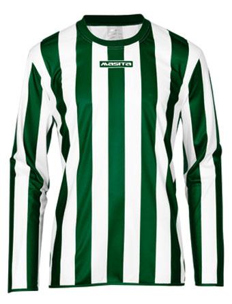 Long Sleeve SportShirt Barca  Green / White