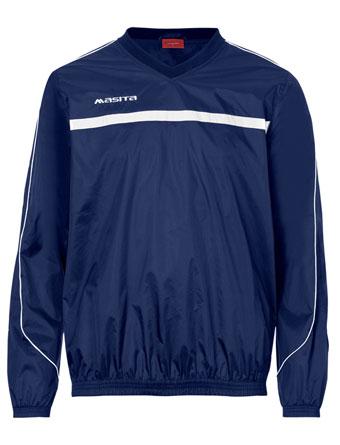 Rain-Sweater Brasil  Navy Blue / White