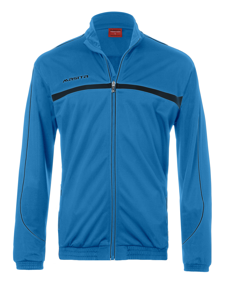 Polyester Jacket Brasil  Sky Blue / Black