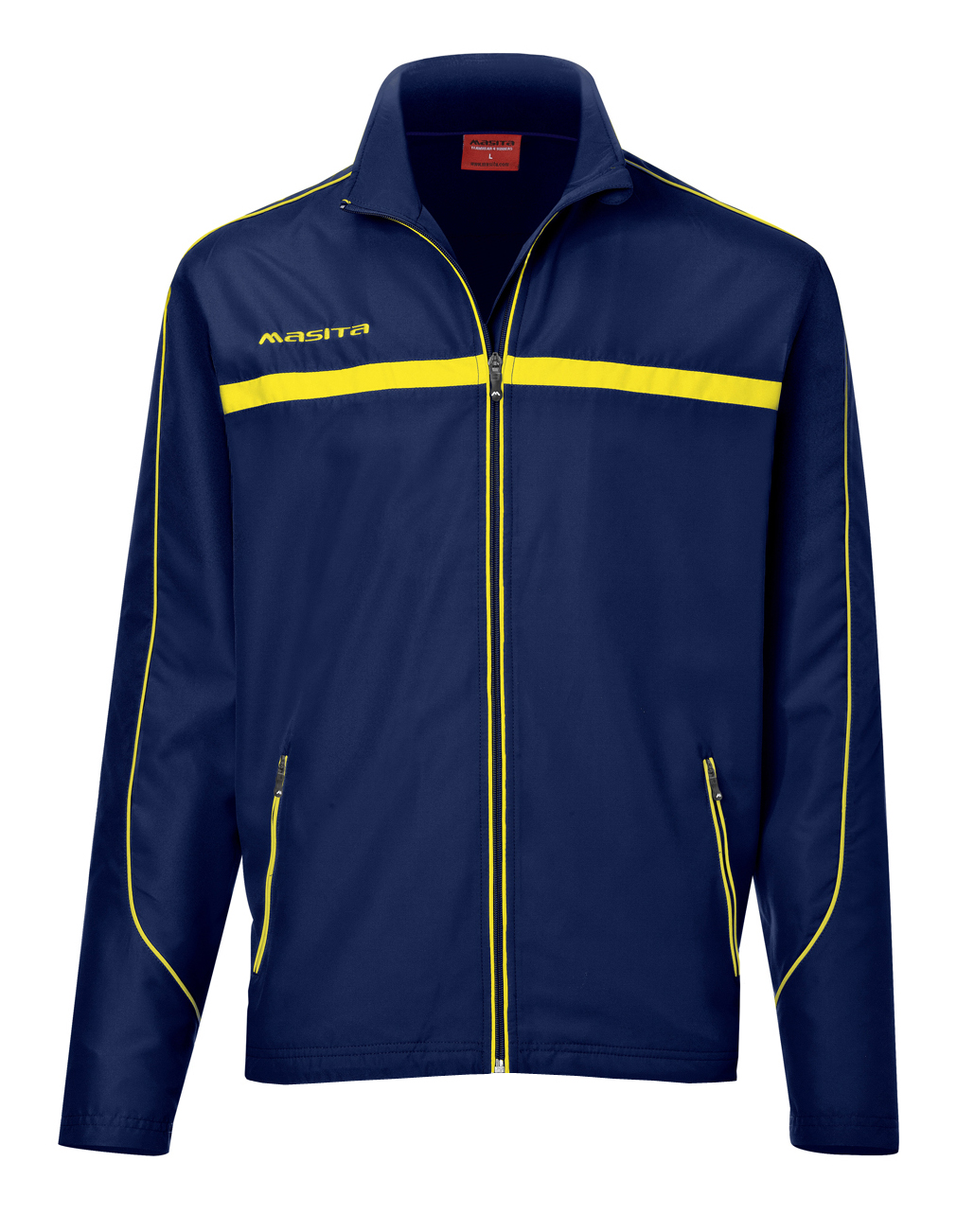 Presentation Jacket Brasil  Navy Blue / Yellow