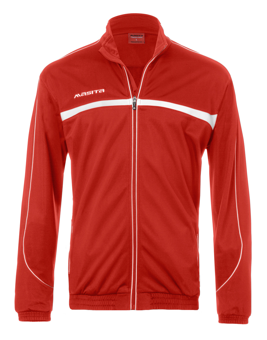 Polyester Jacket Brasil  Red / White
