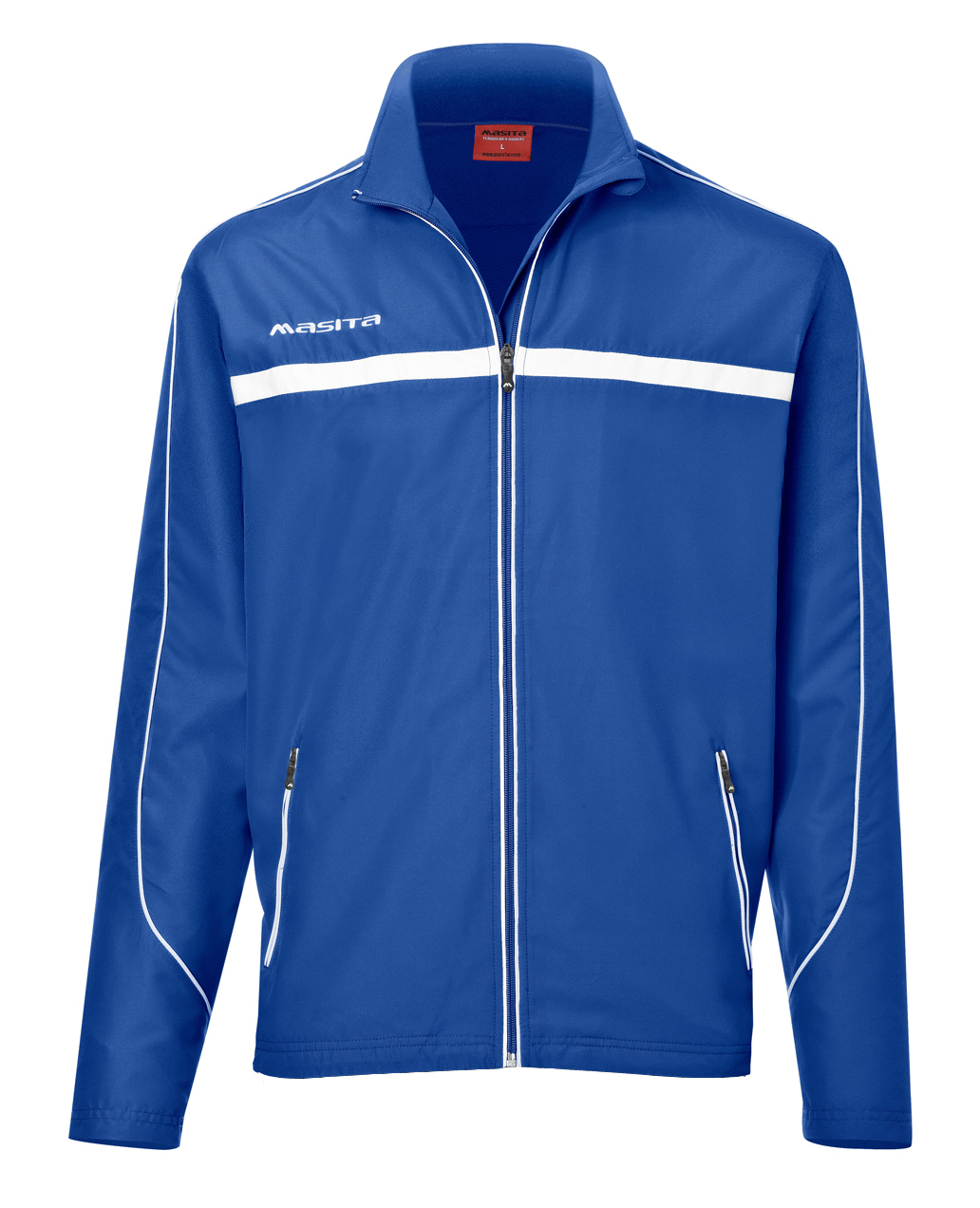 Presentation Jacket Brasil  Royal Blue / White