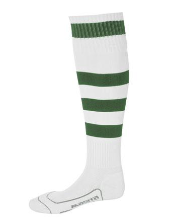 Socks Striped Barca  White / Green