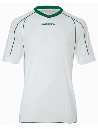 SportShirt Striker  White / Green