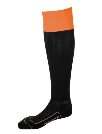 Socks Con.Welt Chelsea  Black / Orange
