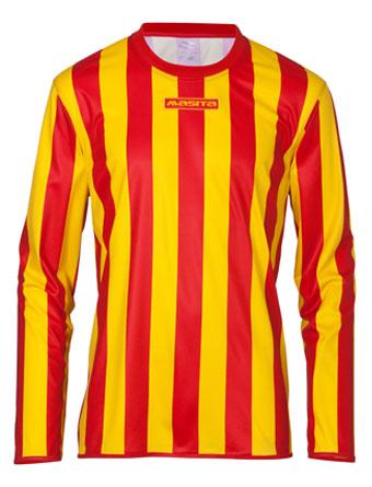 Long Sleeve SportShirt Barca  Red / Yellow