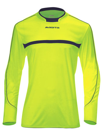 Goalkeeper Shirt Barca  Neon Green / Navy Blue
