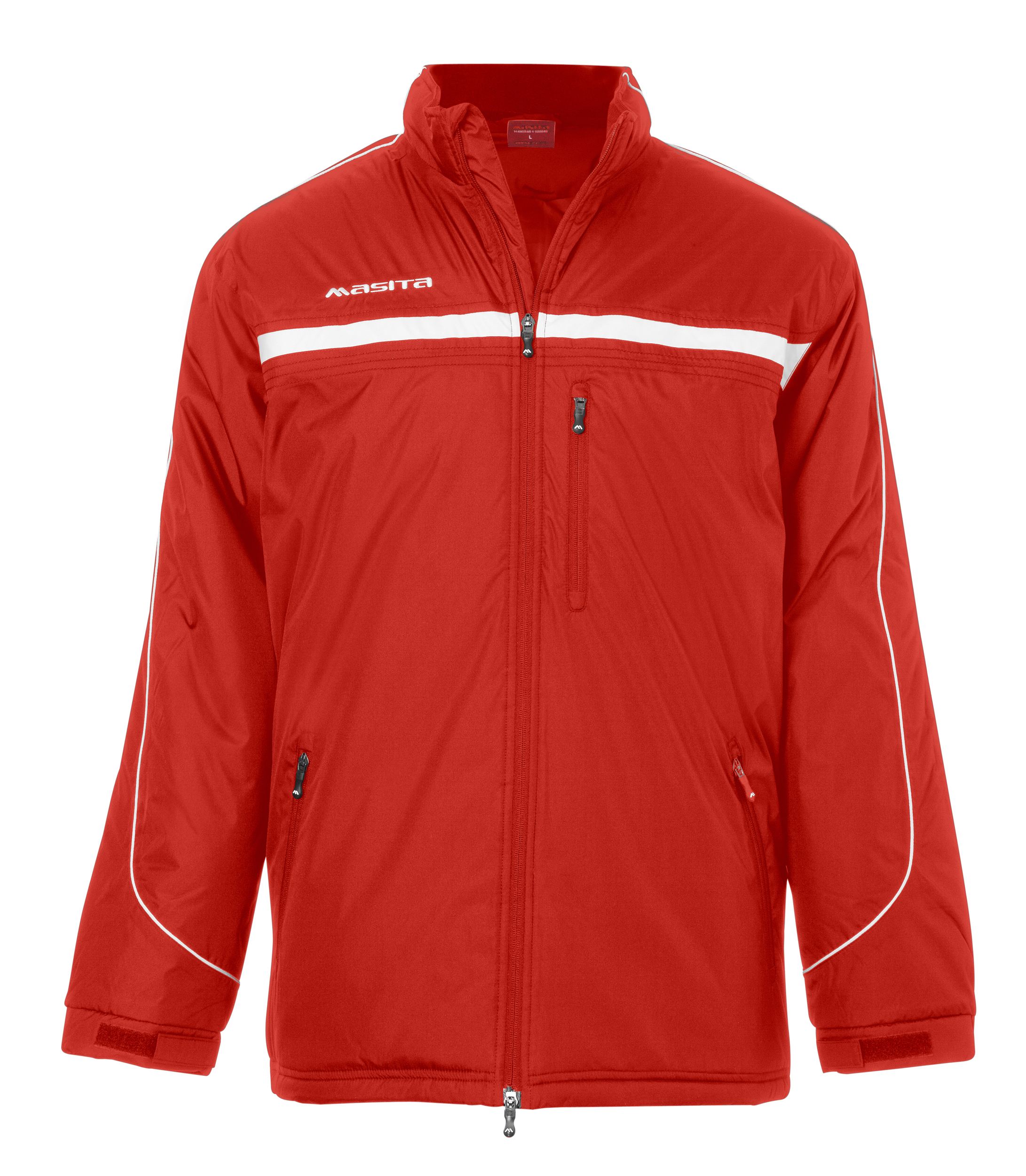 Coach-Jacket Brasil  Red / White