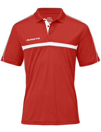 Polo Brasil  Red / White