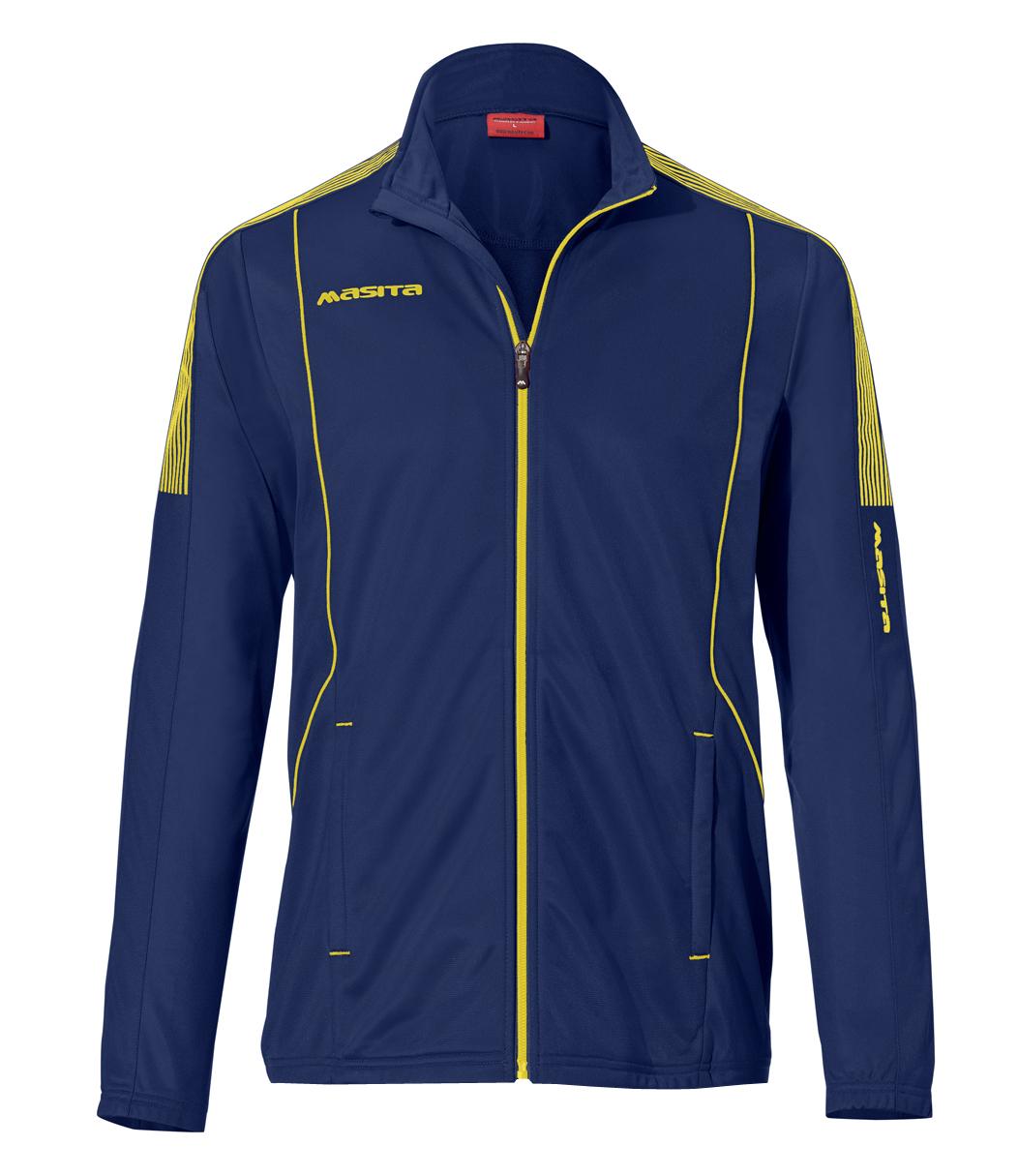 Presentation Jacket Barca  Navy Blue / Yellow