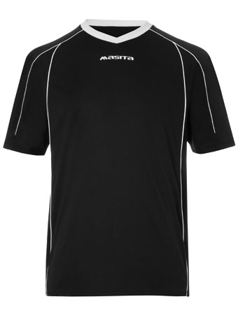 SportShirt Striker  Black / White
