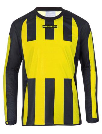 Long Sleeve SportShirt Inter  Yellow / Black